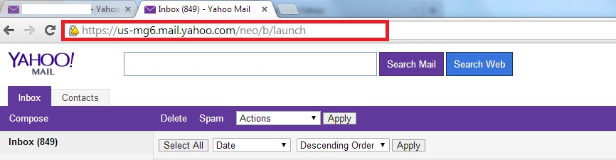 Switch Back to Basic Classic Yahoo mail - Login Yahoo mail - Change URL