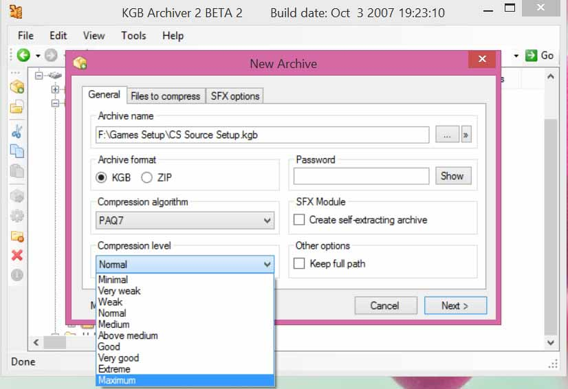 How to Ultra Compress Files - KGB Archiver 2