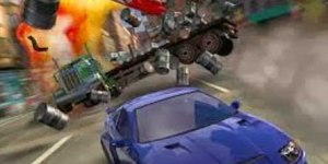 Burnout 3D Racing Game for Nokia Asha 501, 305, 306, 308, 310, 311