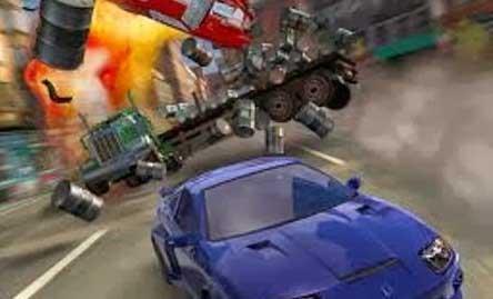 Burnout 3D Racing Game for Nokia Asha 501, 305, 306, 308, 310, 311