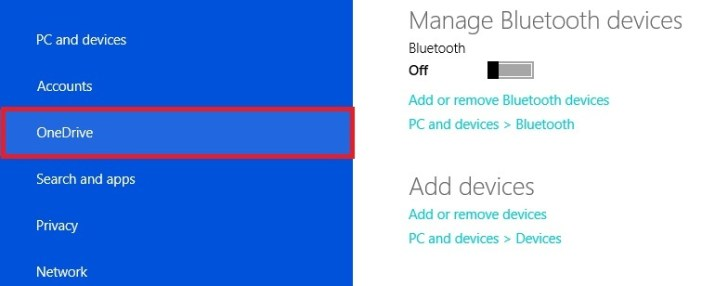 How to Turn off One drive Windows 8.1 - One Drive