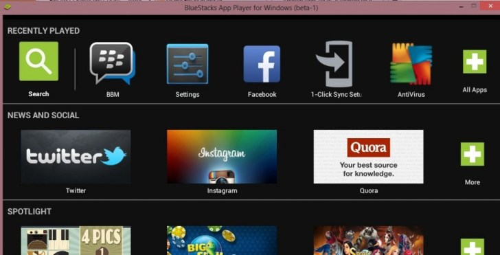How to resize bluestacks apps on windows