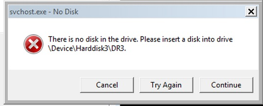 How to Fix Svchost.exe No Disk Error in Windows
