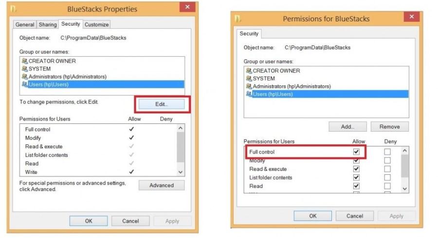 How to fix bluestacks network error