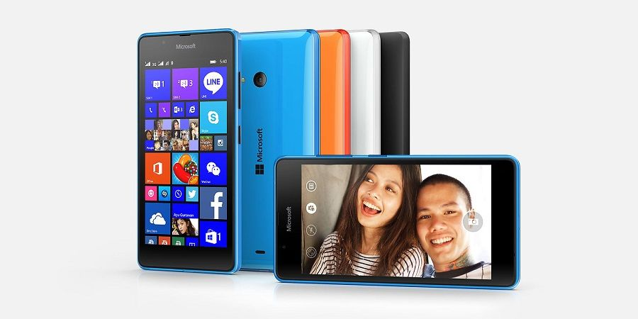 Microsoft lumia 540 dual sim is official with 5-inch 720p display.