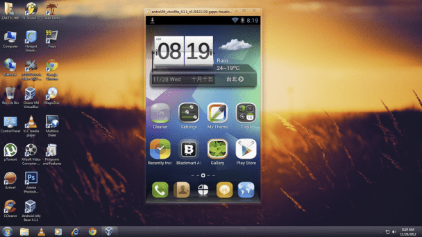 Best Free Android Emulators for Linux  : AndroVM Android Emulator for Linux