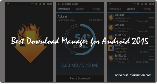 Best Download Manager for Android 2015 : Top Latest