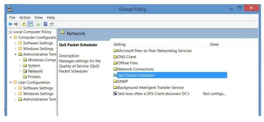 How to Increase Tikona Broadband Speed - Group Policy Editor