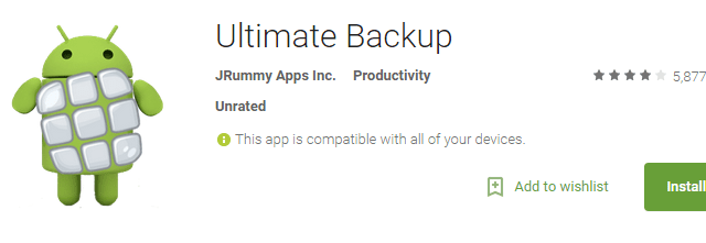 Best Android Apps to Backup and Restore Your Data Without Root - Ultimate Backup