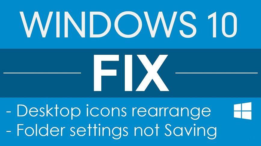 Windows 10 Desktop Icons Position