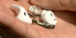 Apple Airpods 'BLEW UP' while a man was working out in Florida