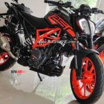 Ktm 250 Duke Gets Led Headlight From Duke 390 Price Rs 2 09 L