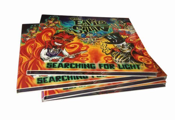 CD Digipack Printing UK | 4 Panel CD Digipak | Rush Media Print