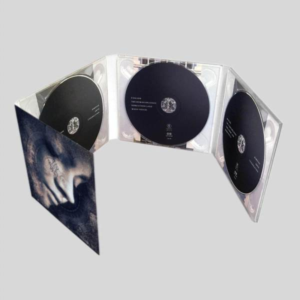 8 panel cd digipak printing with 3 discs