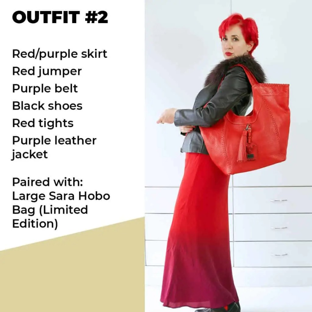 Red Bag outfit 2