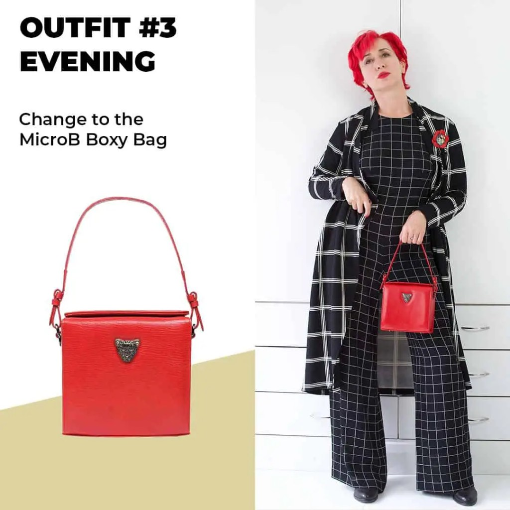 Red Bag outfit 2 Evening