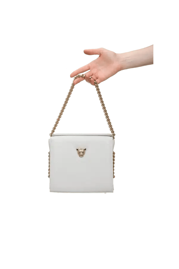 Ice grey MiniB Boxy Bag