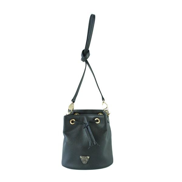 black Bucket Bag 1
