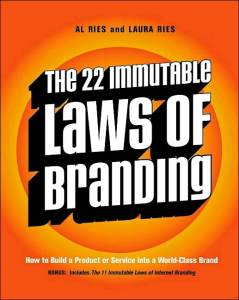 Al Ries – The 22 Immutable Laws Of Branding