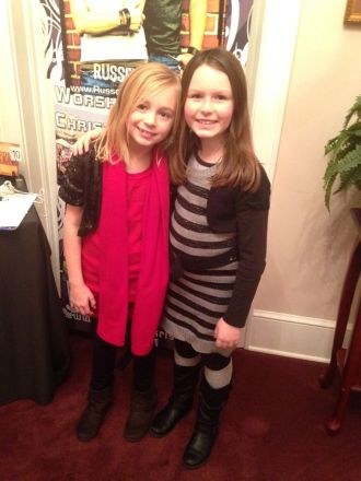 Sidney and her friend Peyton