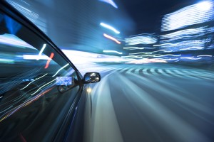 Orange County auto accident lawyer blurred traffic