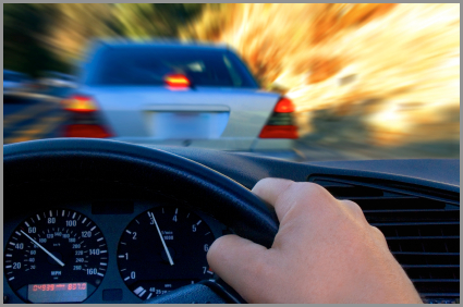 Auto Accident Attorney driver behind the wheel
