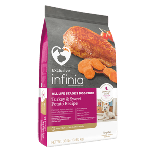 Infinia All LIfe Stages Turkey & Sweet Potato Dry Dog