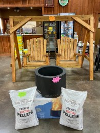 Patterson Wood Heating Pellets are now available at Russell Feed & Supply.