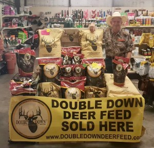Double Down Deer Custom Mineral is now in stock at all 8 Russell Feed & Supply locations! Grow the big bucks this year, with Double Down Custom Mineral.