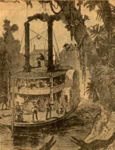 Steamship Laura on Buffalo Bayou
