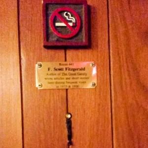 Paris: F. Scott Fitzgerald's room
