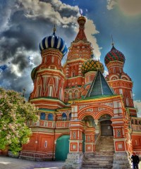 Crkva Vasilija Blaženog Moskva