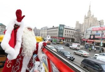 Nova godina u Moskvi