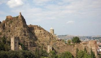 Tbilisi Gruzija krajolik