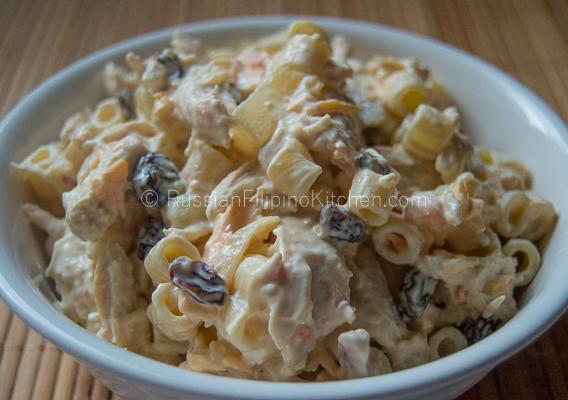 Filipino Chicken Macaroni Salad