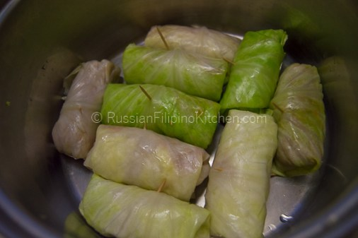 Golubtsy - Stuffed Cabbage Rolls 19