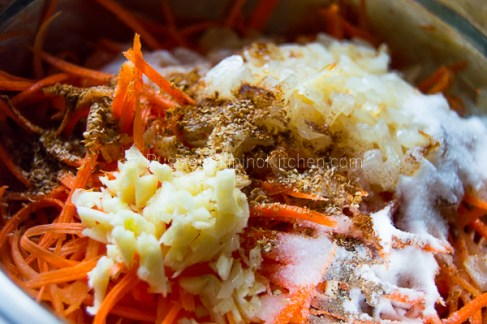 Russian Korean Carrot Salad 10