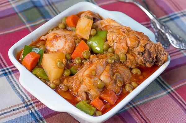 Filipino Chicken Caldereta 01