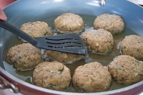 Chicken Kotleti (Russian-style Meatballs) 12