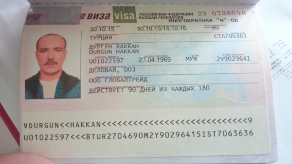 Russian Tourist Visa In Turkey Russian Visa Application