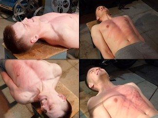 Boy torso whipping corporal punishment for young male