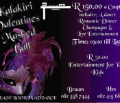 valentines masked ball poster