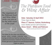 Platinum wine and food affair poster 2013 edited