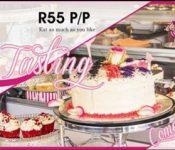 isabella cake tasting event poster