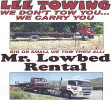 Towing Services and Lowbed Rental