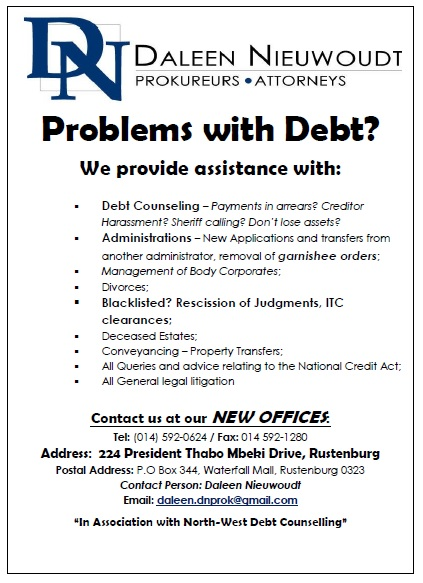 Debt and legal assistance