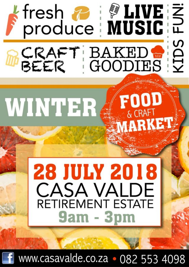food and craft market