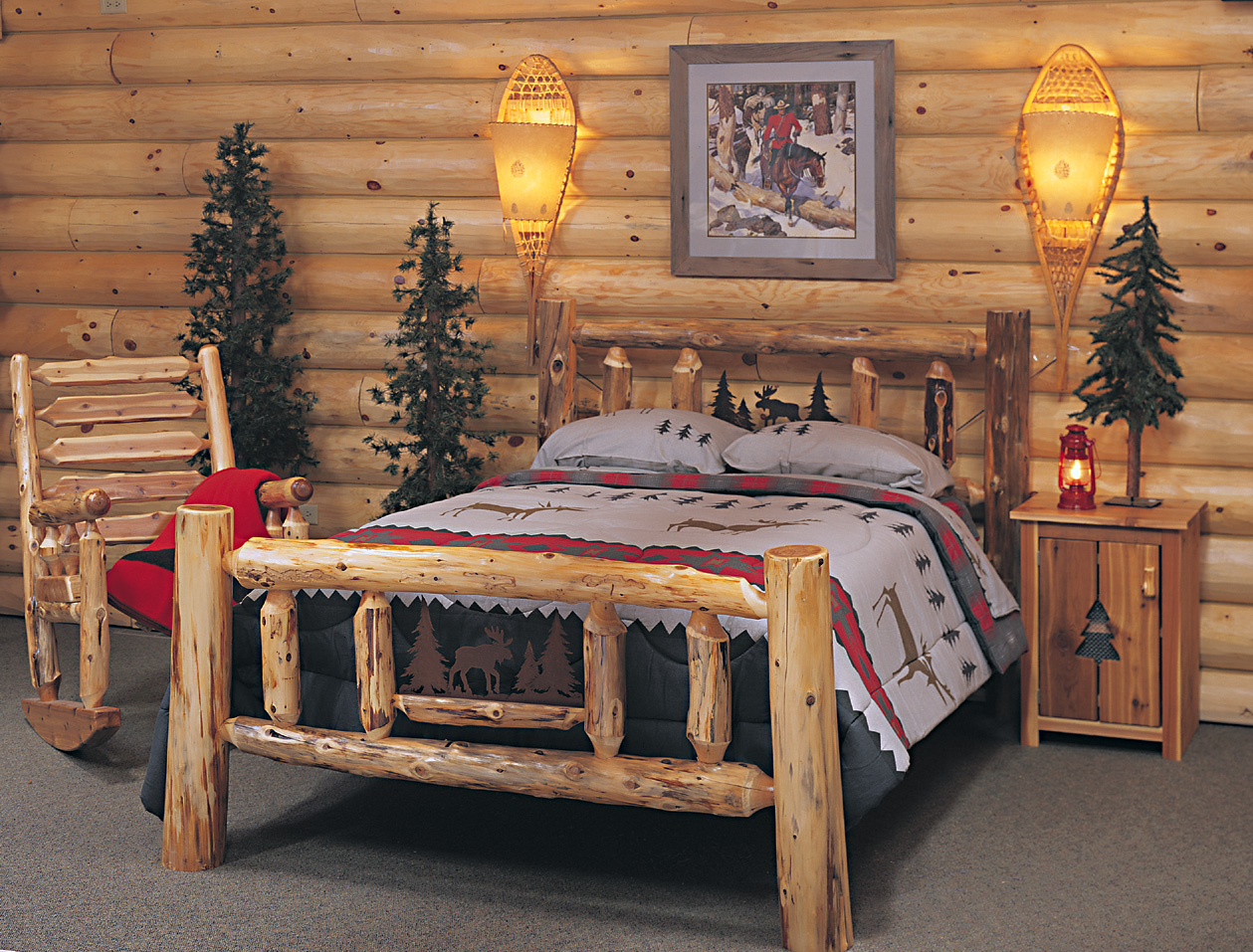 Rustic Cedar Log Furniture