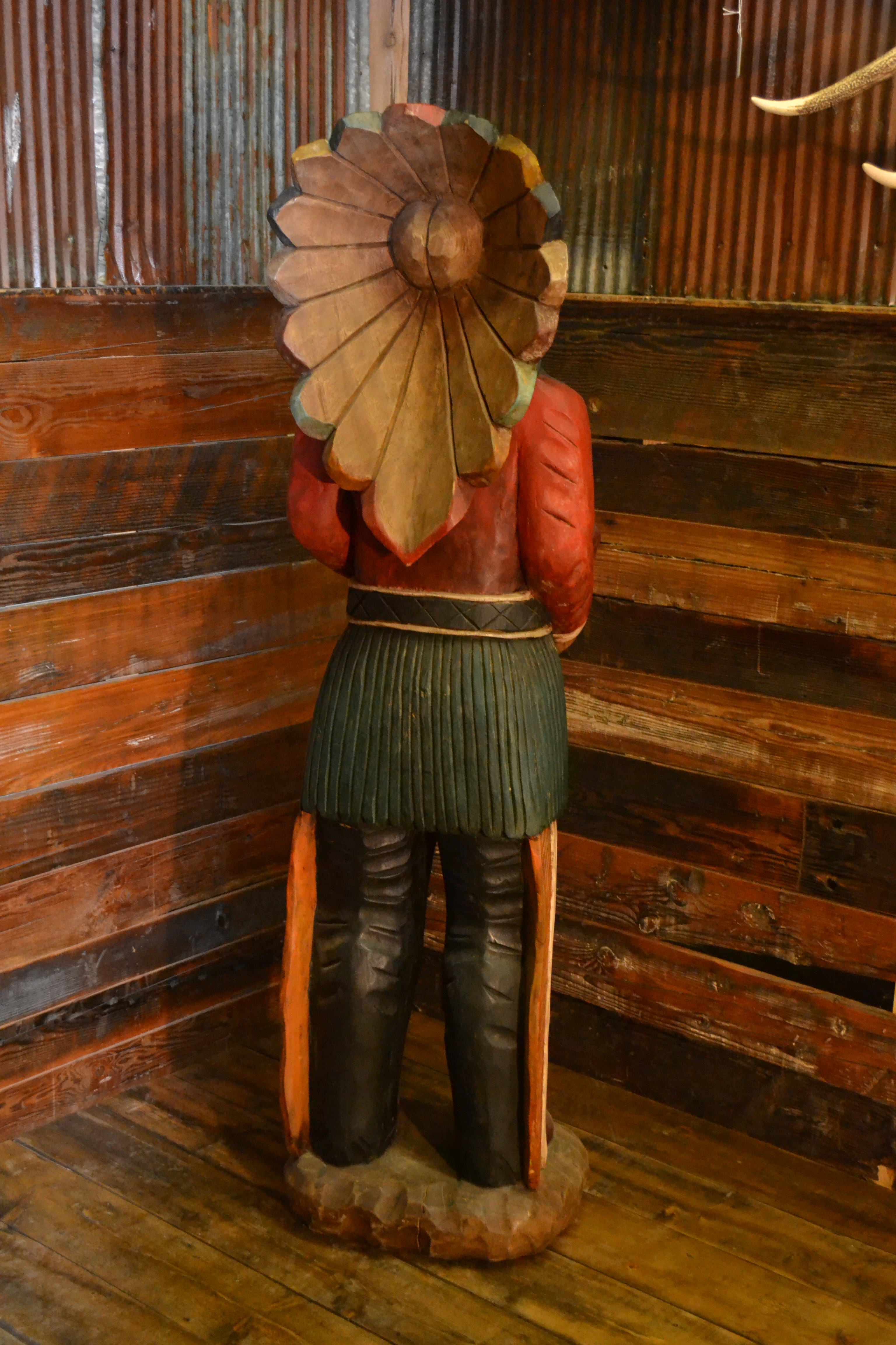 6 Cigar Store Indian Rustic Furniture Mall By Timber Creek
