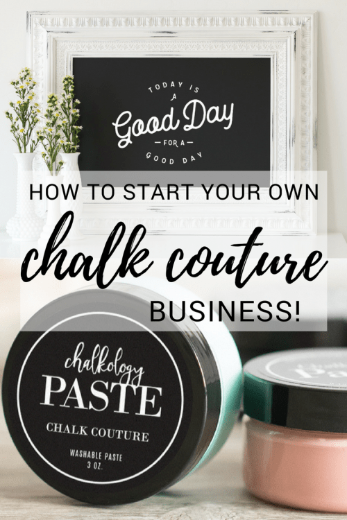 Chalk Couture Business